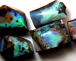 SLICED BOULDER OPAL 133 CTS AS-AB501