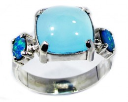 Opal Doublet & Gemstone Rings