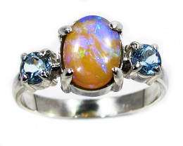 9.5 RING SIZE SOLID OPAL FACTORY DIRECT [SOJ2806]