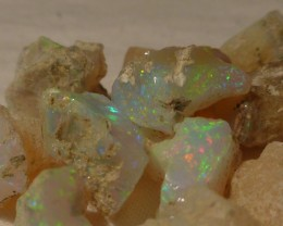 Stunning Bright Rough Welo Opal Parcel 75ct