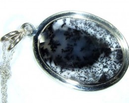 DENDRITIC OPAL  PENDANT  30  CTS  OF-859