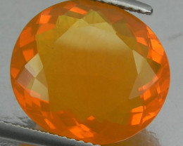 7.44 Cts Oval Mix Shape Natural orange Mexican Fire Opal 1$