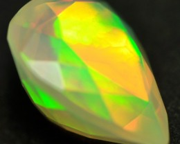 EXTREMELY BRIGHT FACETED WELO  OPAL 2.50CTS
