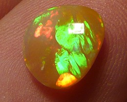 1.3ct Fire bomb, perfect polished brown Welo opal candy