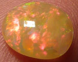 1.2ct Fire bomb perfect polished brown Welo opal. GRAB IT!!!