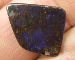 COLOURMINE OPALS>12.90.cts DRILLED LOVELY BOULDER OPAL