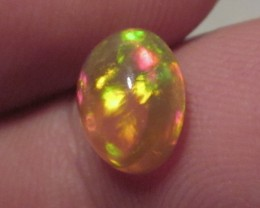 ~1.55CT WELO OPAL/GOLD TINT CRYSTAL/GORGEOUS RING STONE!~