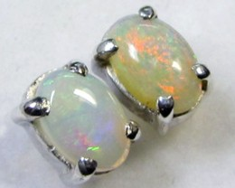 6x4  M SOLID OPAL   STERLING SILVER  CF 282