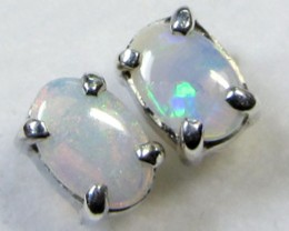 6x4  M SOLID OPAL   STERLING SILVER  CF 284