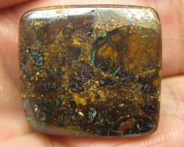 COLOURMINE OPALS>40.00.cts DRILLED BOULDER MATRIX OPAL