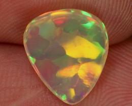 Back of opal.
