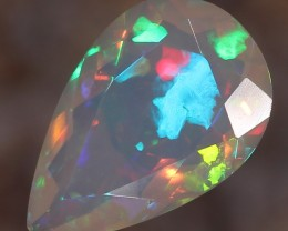 2.16ct. Faceted. Superior Confetti Opal.