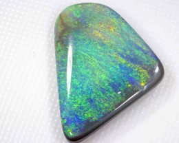 7.75 cts BLACK OPAL FROM LR