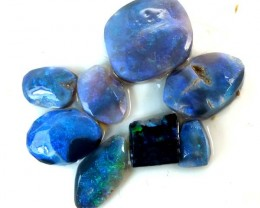BLACK OPAL ROUGH  L. RIDGE 15   CTS   DT-3658