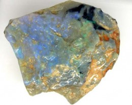 BLACK OPAL ROUGH  L. RIDGE   264 CTS  DT-3806