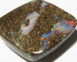LOVELY BOULDER OPAL WITH UNDULATING SURFACE.
