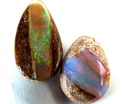QUALITY BOULDER PIPE OPAL CUT 22  CTS TBO-74
