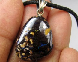 21CTS SILVER BALE BOULDER OPAL PENDANT MMM 149