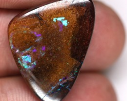 20.91 cts Funky Boulder Opal with Bright Colours (RB398)
