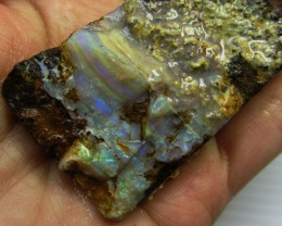 60GMS  OWN PART OF BOULDER HISTORY-ROUGH OPAL MMM 179