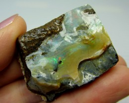 28GMS  OWN PART OF BOULDER HISTORY-ROUGH OPAL MMM 181