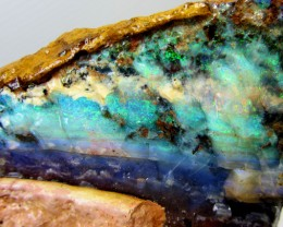 294GMS  OWN PART OF BOULDER HISTORY-ROUGH OPAL MMM 259