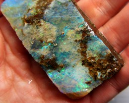 36GMS  OWN PART OF BOULDER HISTORY-ROUGH OPAL MMM 287