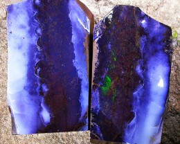 Boulder Opal Rough Pairs