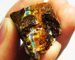 13GMS  OWN PART OF BOULDER HISTORY-ROUGH OPAL MMM 439