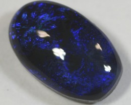 Dark Black Opal from LR - 1.45 CTS