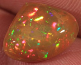 4.86CT EXTREMELY BRIGHT WELO OPAL FULL SATURATION 5/5 FIRE!!