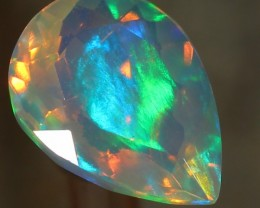 1.69ct. Faceted Welo Ethiopian Opal
