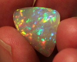 10.12CT COLLECTORS WELO OPAL WITH 5/5 PEACOCK FEATHER FIRE!
