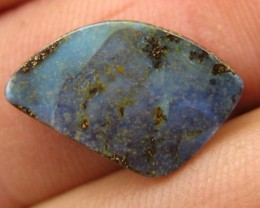 COLOURMINE OPALS>7.30.cts DRILLED LOVELY BOULDER OPAL