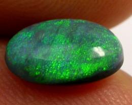 1.15CTS  GREEN HUES N1 BLACK OPAL   OPAL    QOM 1123