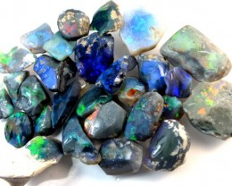165 CTS BLACK OPAL ROUGH  L. RIDGE DT-1632