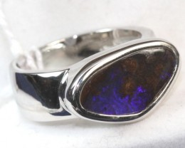 BOULDER OPAL UNISEX RINGS 52.30  CTS   10.50 SIZE  OF-169