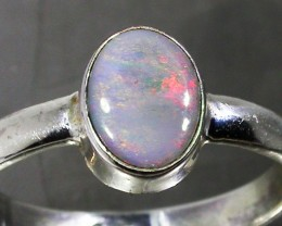 7.5 RING SIZE SOLID CRYSTAL OPAL -FACTORY DIRECT [SOJ3062]