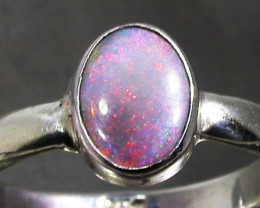 7.5 RING SIZE SOLID CRYSTAL OPAL -FACTORY DIRECT [SOJ3065]