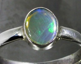 9.5 RING SIZE SOLID CRYSTAL OPAL -FACTORY DIRECT [SOJ3066]