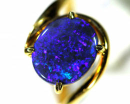 HANDCRAFTED GOLD 14 K OPAL RING JEWELLERY  [ JD 5 ] BY SEDA OPALS