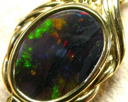 STUNNING HANDCRAFTED GOLD 18 K OPAL JEWELLERY  PENDANT [ JD 14 ] BY SEDA O