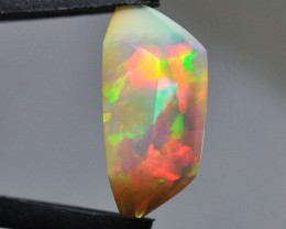 7.15ct ETHIOPIAN WELLO CRYSTAL MASTERCUT GEM OPAL EXTRA BRIGHT FIRE