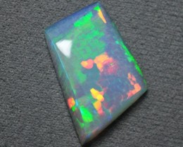 10.00ct ETHIOPIAN WELLO CRYSTAL MASTERCUT GEM OPAL BRIGHT HONEYCOMB + PATCH
