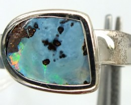 UNISEX MEN-LADIES RINGS  SOLID OPAL27.45CTS SIZE-8.5  OF-222