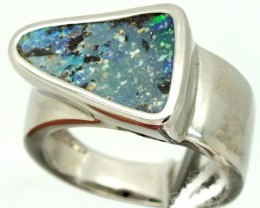 UNISEX MEN-LADIES RINGS  SOLIDOPAL 50.35 CTS SIZE-10  OF-229