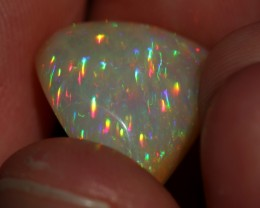 9.85ctCOLLECTORS WELO OPAL WITH INSANE NEON 5/5 PRISM FIRE!