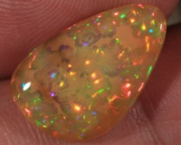 4.98CT BEAUTIFUL WELO OPAL WITH HONEYCOMB AND PRISM FIRE!!