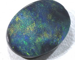 BLACK OPAL POLISHED STONE  0.80  CTS  TBO-293