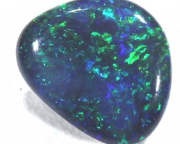 QUALITY BLACK OPAL POLISHED STONE  0.47  CTS  TBO-280
